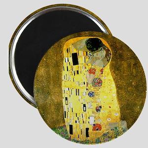 The Kiss Gustav Klimt Magnet