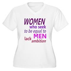 Women Equal Men T-Shirt