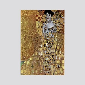 Adele Gustav Klimt Rectangle Magnet