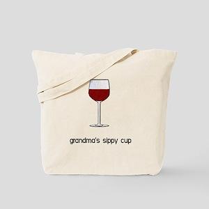 Grandma's Sippy Cup Tote Bag