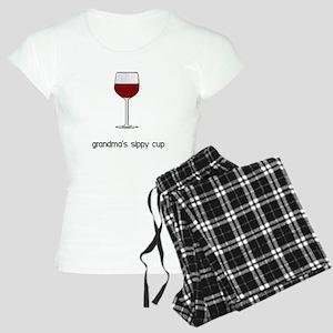 Grandma's Sippy Cup Women's Light Pajamas