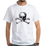 Skull & Cross-Bones White T-Shirt