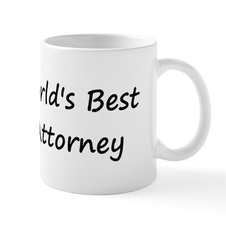 World's Best Attorney Mug