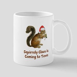 Squirrely claus Mug