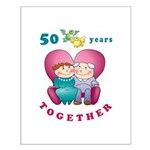 Happy Couple Small Poster
