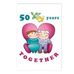 Happy Couple Postcards (Package of 8)