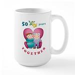 Happy Couple Large Mug