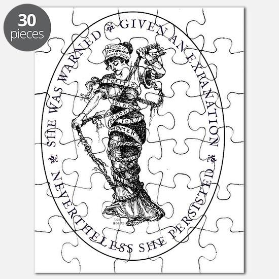 Cute Suffragette Puzzle