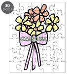 Flowers For Grandma Puzzle