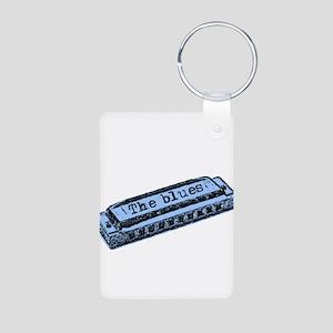 The Blues Harp Aluminum Photo Keychain