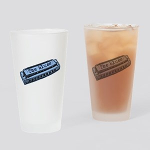 The Blues Harp Drinking Glass