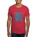 Real programmers - Dark T-Shirt
