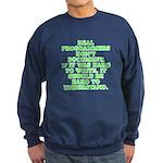 Real programmers - Sweatshirt (dark)