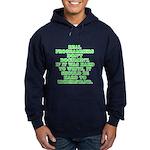 Real programmers - Hoodie (dark)