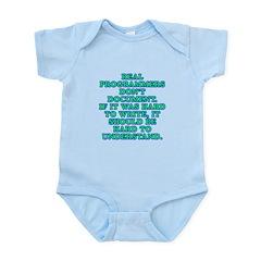 Real programmers - Infant Bodysuit