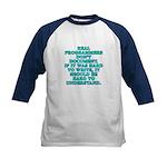 Real programmers - Kids Baseball Jersey