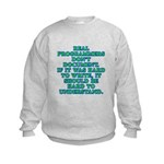 Real programmers - Kids Sweatshirt
