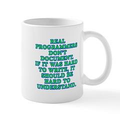 Real programmers - Mug