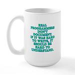 Real programmers - Large Mug