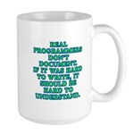 Real programmers - Large Mug