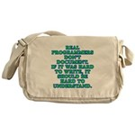 Real programmers - Messenger Bag