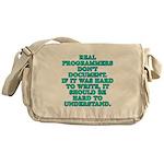 Real programmers - Messenger Bag