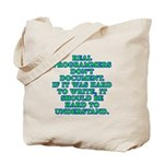 Real programmers - Tote Bag