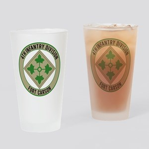 4th Infantry post Drinking Glass