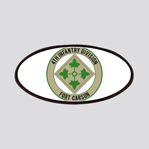 4th Infantry post Patches