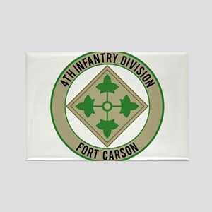 4th Infantry post Rectangle Magnet