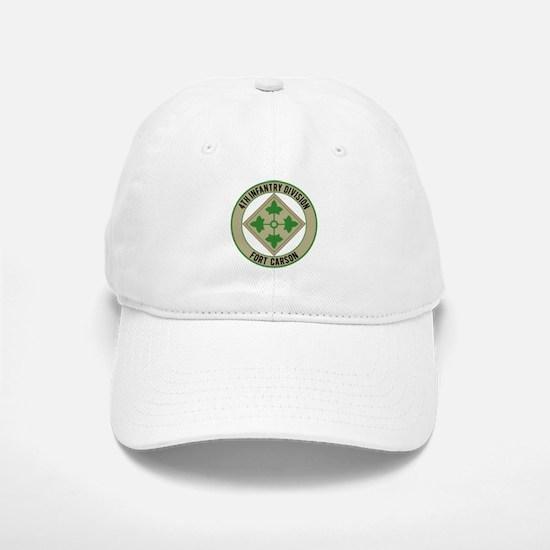 4th Infantry post Baseball Baseball Cap