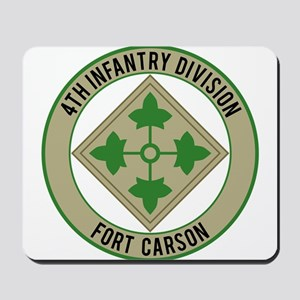 4th Infantry post Mousepad