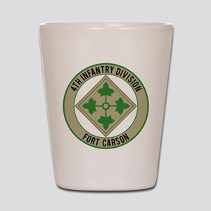4th Infantry post Shot Glass