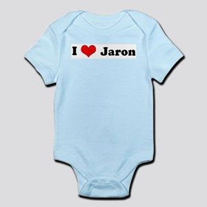 I Love Jaron Infant Creeper