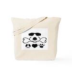 Peace, Love, Dog Tote Bag