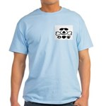 Peace, Love and Puppy Paws Light T-Shirt