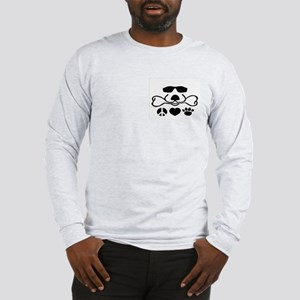 Peace, Love and Puppy Paws Long Sleeve T-Shirt
