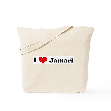 I Love Jamari Tote Bag