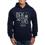 Ideas are like Stars Hoodie (dark)