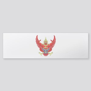 Thai Garuda Symbol Sticker (Bumper)
