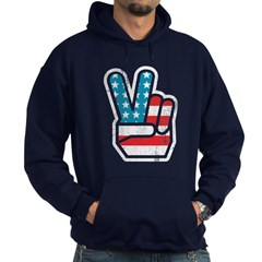 Peace For America Hoodie (dark)