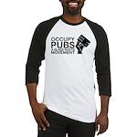 occupy_pub_tshirt_final Baseball Jersey