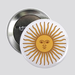 """Sol de Mayo 2.25"""" Button"""