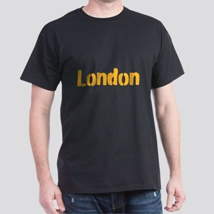 London (gold) Dark T-Shirt