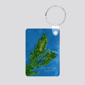 Cape Breton Jewellery Aluminum Photo Keychain