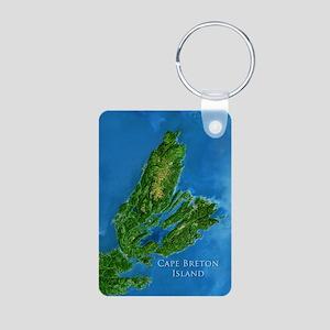 Cape Breton Jewellery Aluminum Photo Keychain