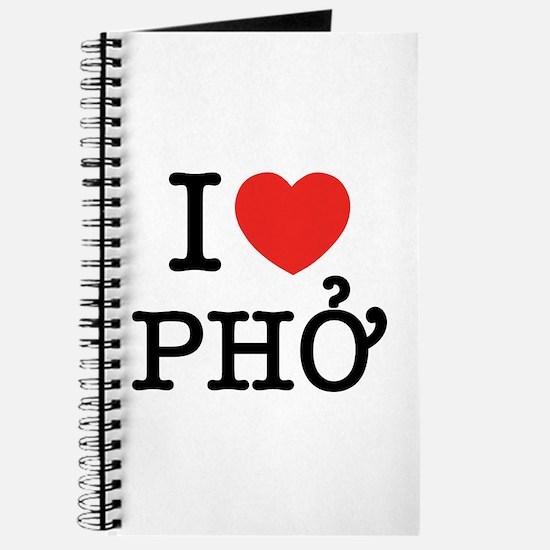 I Love (Heart) Pho Journal
