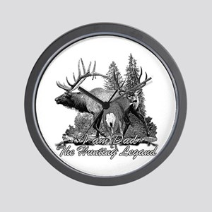 Dad the hunting legend 3 Wall Clock