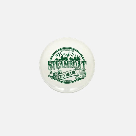 Steamboat Old Circle 3 Mini Button