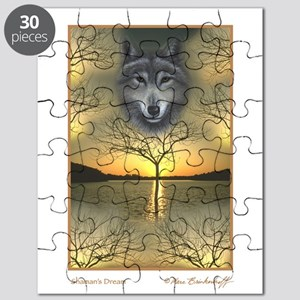 Shaman's Dream ~ Wolf ~ Puzzle
